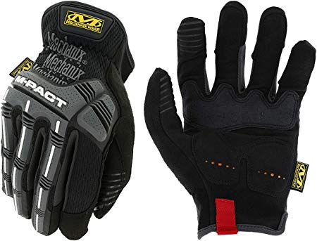 Cimdi Mechanix M-Pact Open Cuff Black/Grey melni/grijs 11/XL