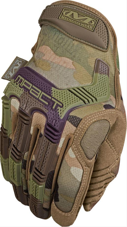 Gloves M-PACT 78 camouflage 12/XXL