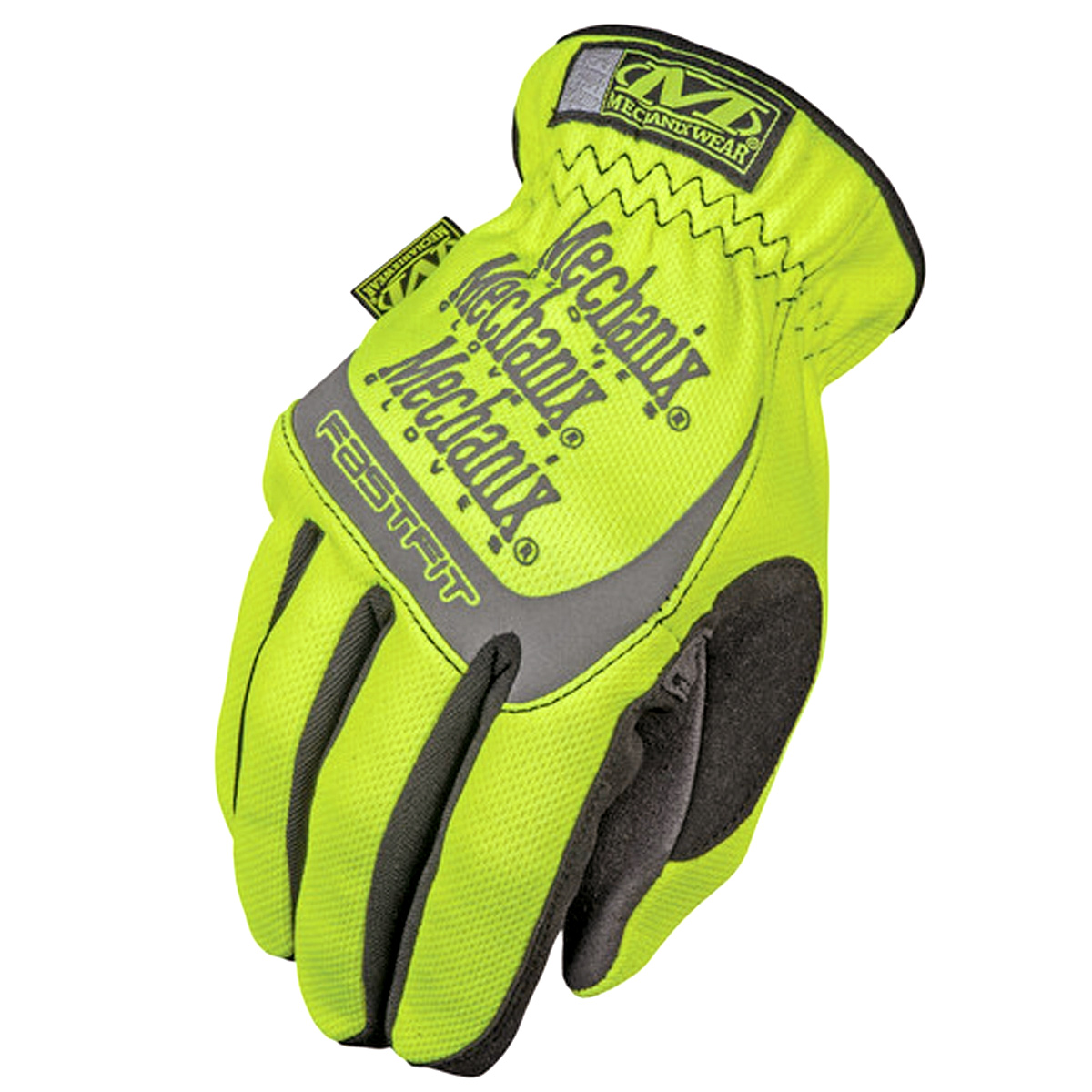 Gloves HI-VIZ FAST FIT 91 HiViz yellow 12/XXL