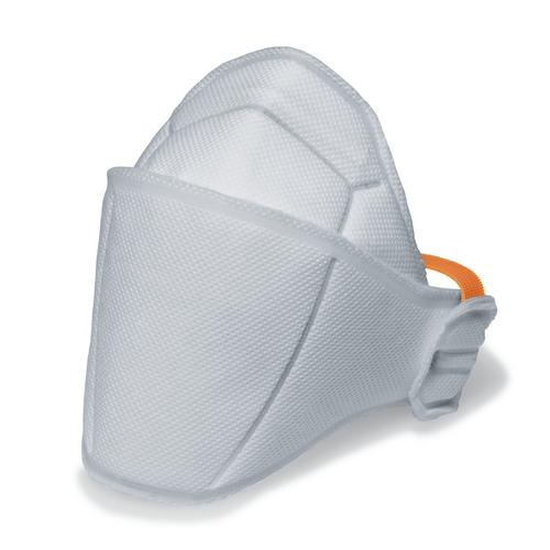 Face mask silv-Air Premium 5200 FFP2, folding mask without valve, white, 3 pcs packed