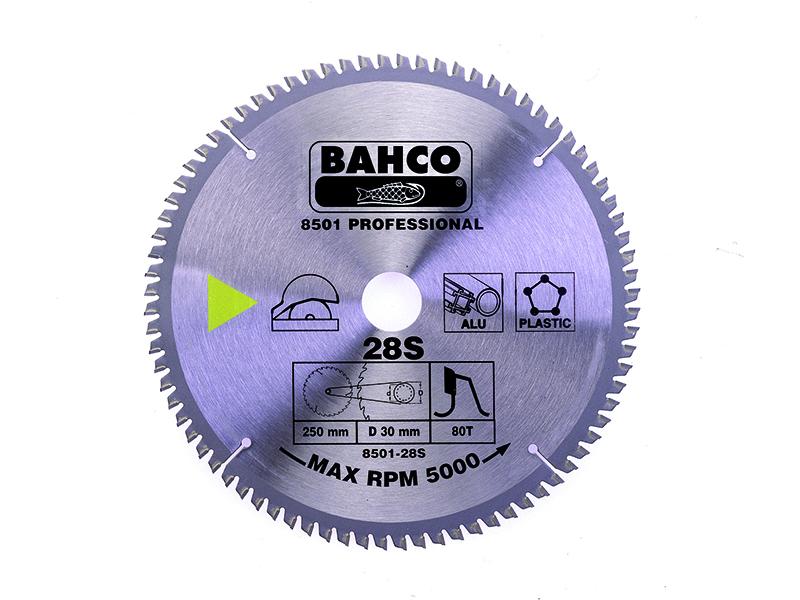 Circular saw blade for aluminium and plastics 250x30/25/20/16mm 80T