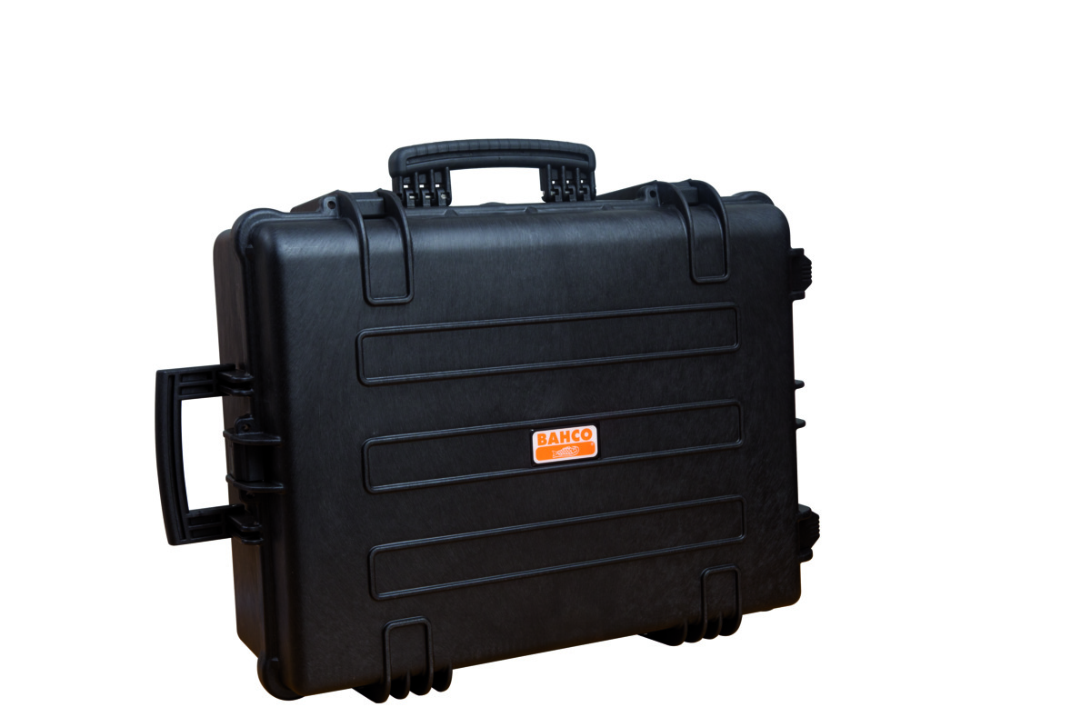 Indestructible tool case with injected copolymer polypropylene structural resin 630x480x290mm 63L, corrosion, water and dust proof