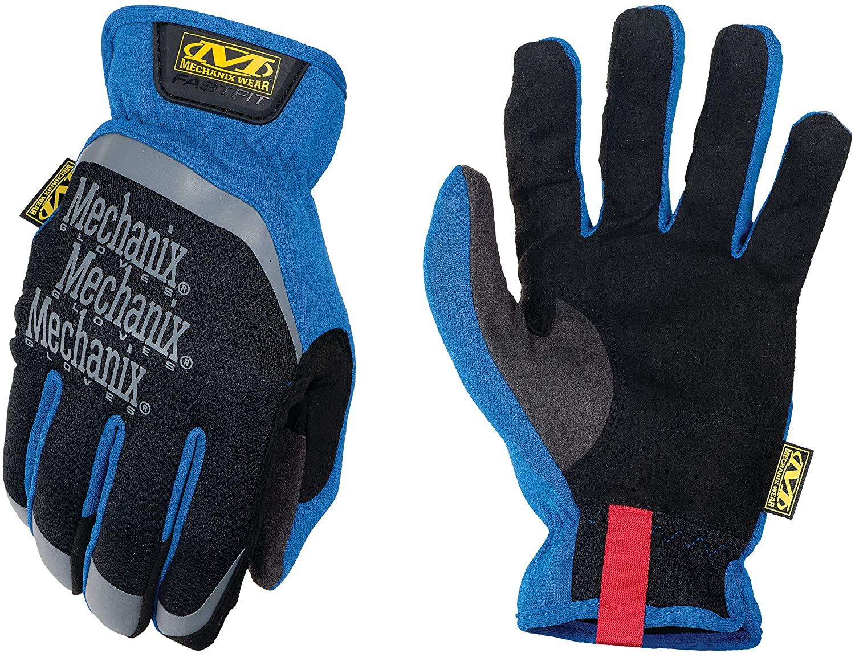 Gloves FAST FIT 03 black/blue 9/M