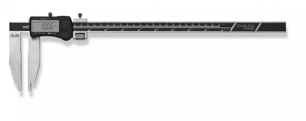 Digital caliper 300x150mm 0,03mm DIN 862, INOX