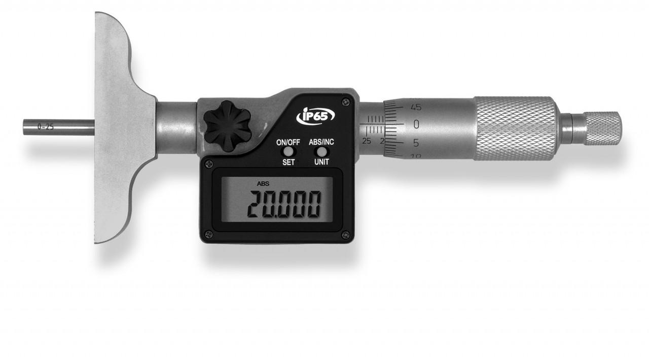 Digital depth micrometer 0-100mm / 0.001mm
